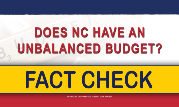 Does NC Have an Unbalanced Budget?