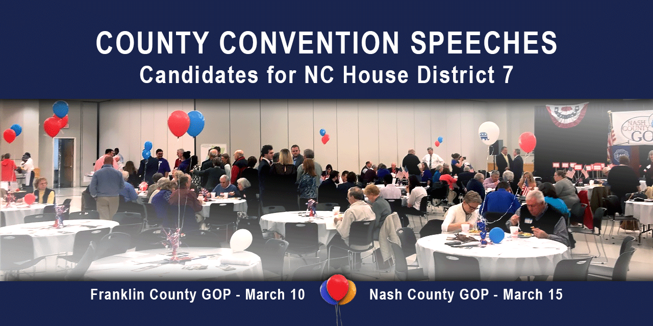 County Convention Speeches | NC House 7