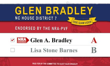 NRA-PVF Endorses Glen Bradley for NC House 7