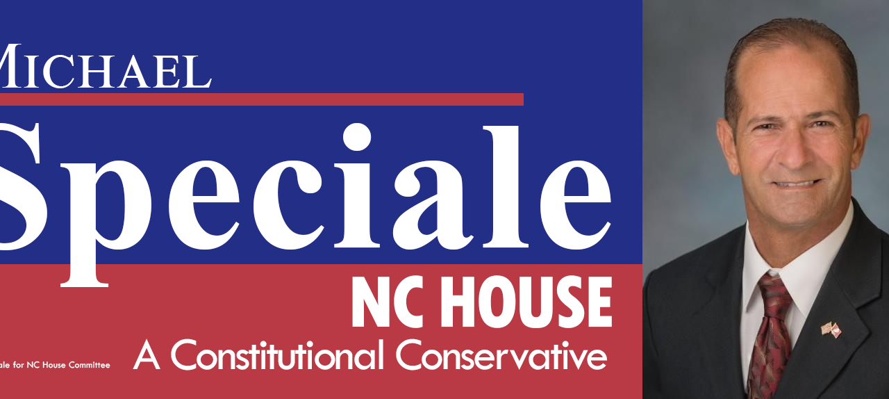 Rep. Speciale Endorses Glen Bradley for NC House 7