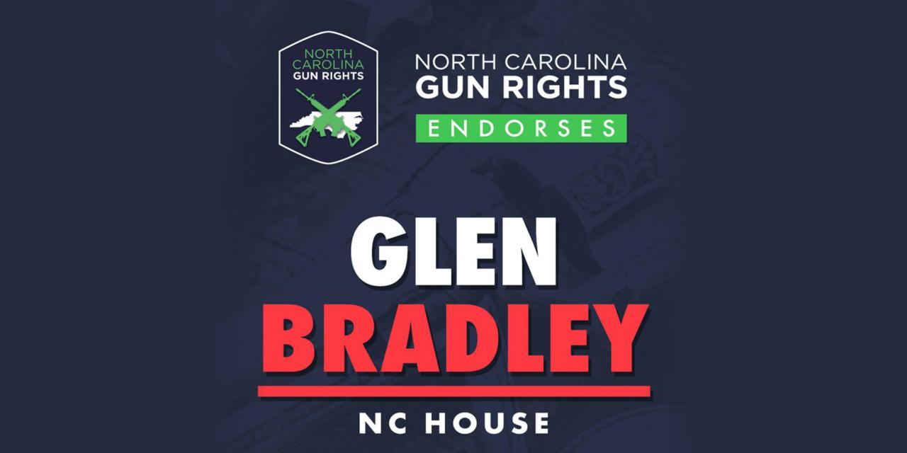 NCGR Endorses Glen Bradley for NC House