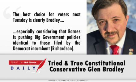 Tried & True Constitutional Conservative Glen Bradley